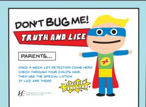 Headlice – Information Leaflet for Parents