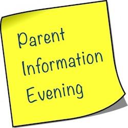 Fifth/Sixth Year Parents College Information Evening – Wednesday 9th January 7pm