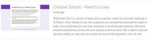 Creative Schools Parents/Guardians Survey