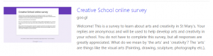 Creative Schools Student Survey