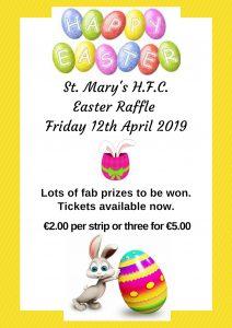 Bumper Easter Raffle – Fabulous Prizes!