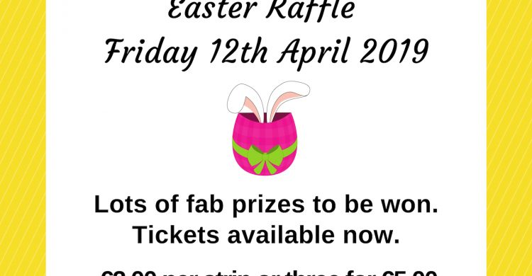 1. Easter raffle