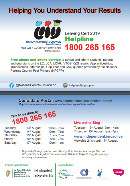 Results Helpline