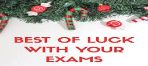 Christmas Examinations – Important Information
