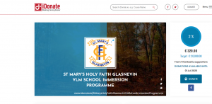 VLM School Immersion Programme iDonate Page – Making Giving Easier