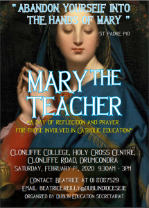 Invitation to a Day of Prayer and Reflection