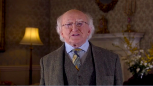 Message from President Higgins to the parents of students in our  schools on the importance of social distancing