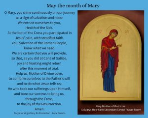 Mí na Maighdine Muire – May the month of Mary