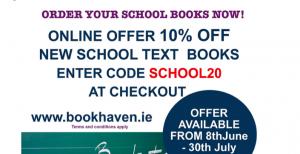 10% Off School Text Books